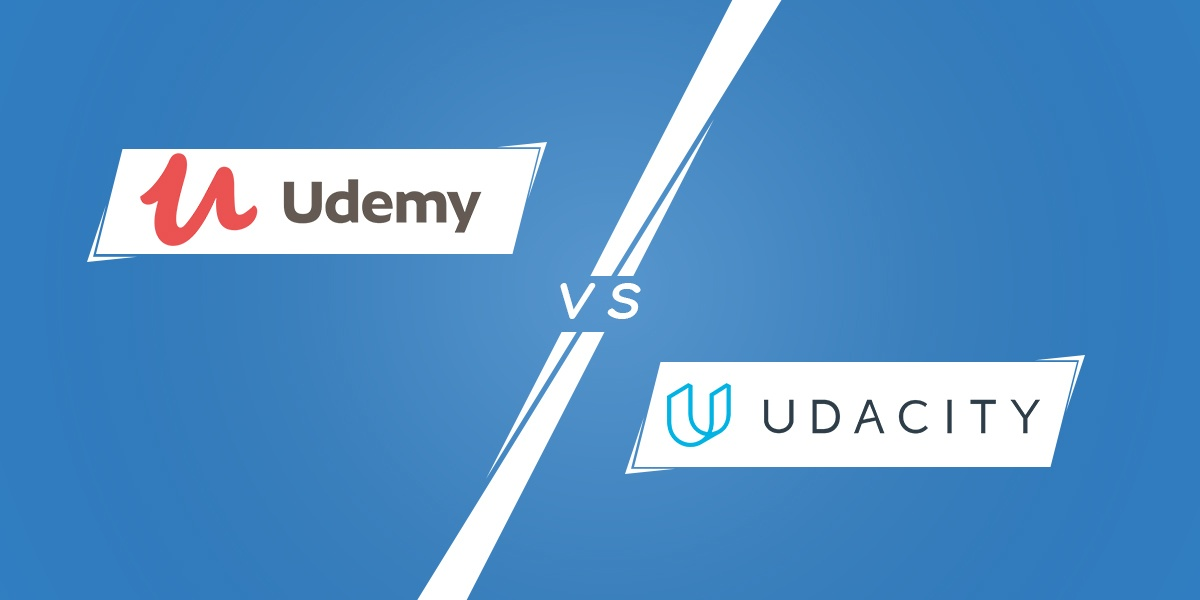 udemy vs  udacity  side by side comparison  u0026 review