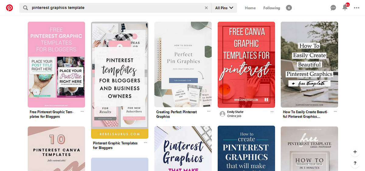 Awesome Looking Pinterest Graphics
