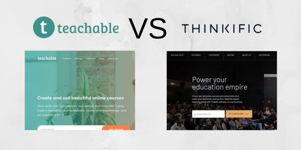 Thinkific vs. Teachable: The Ultimate Side-by-Side Review and Comparison header