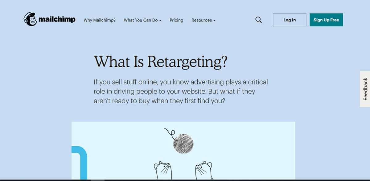 retargeting ads to reach people on your email list