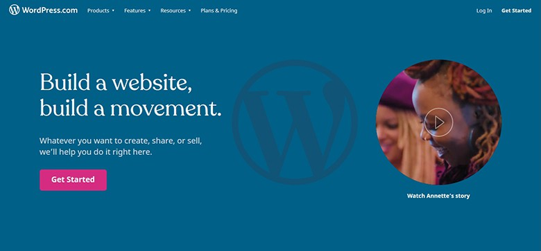 websites are hosted on WordPress