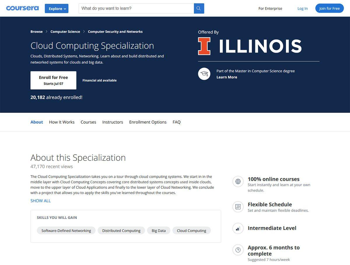 Cloud Computing - Coursera