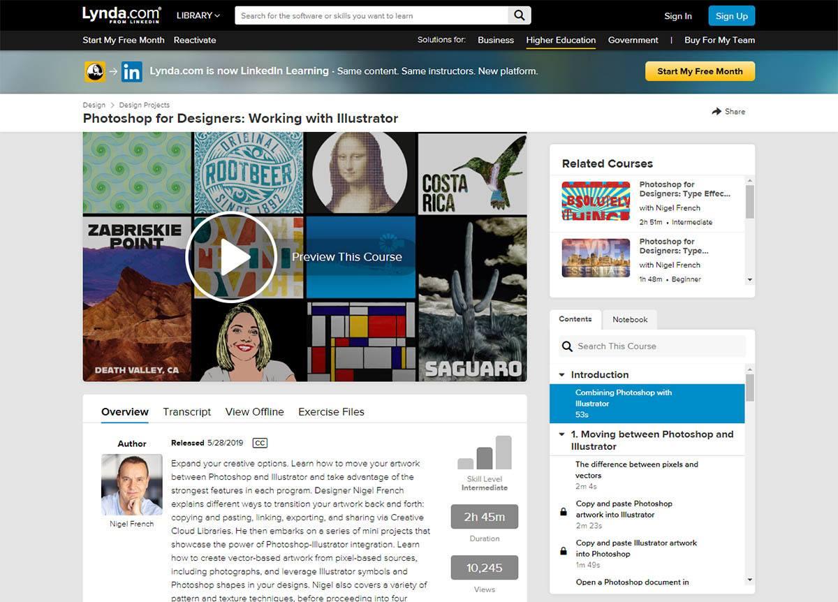 Lynda / LinkedIn Learning