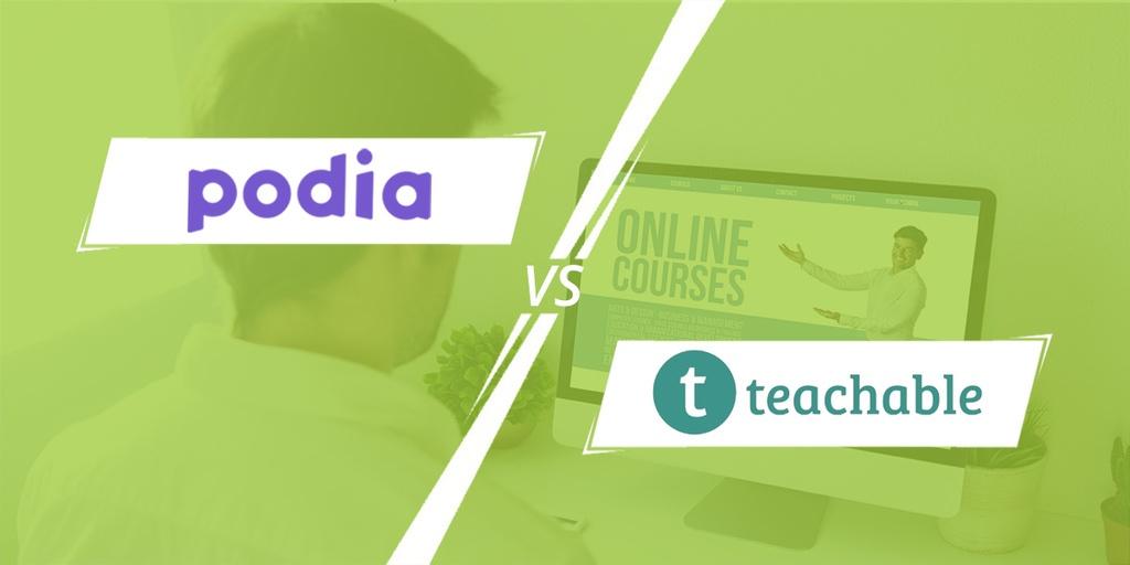 Podia vs Teachable