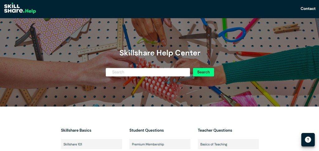 Skillshare support