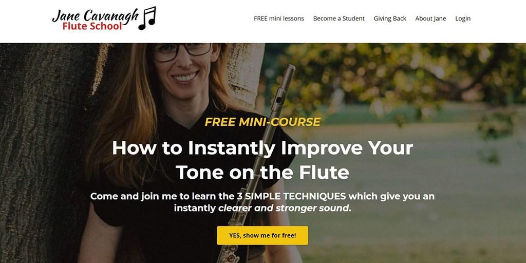 Jane Cavanagh Flute School