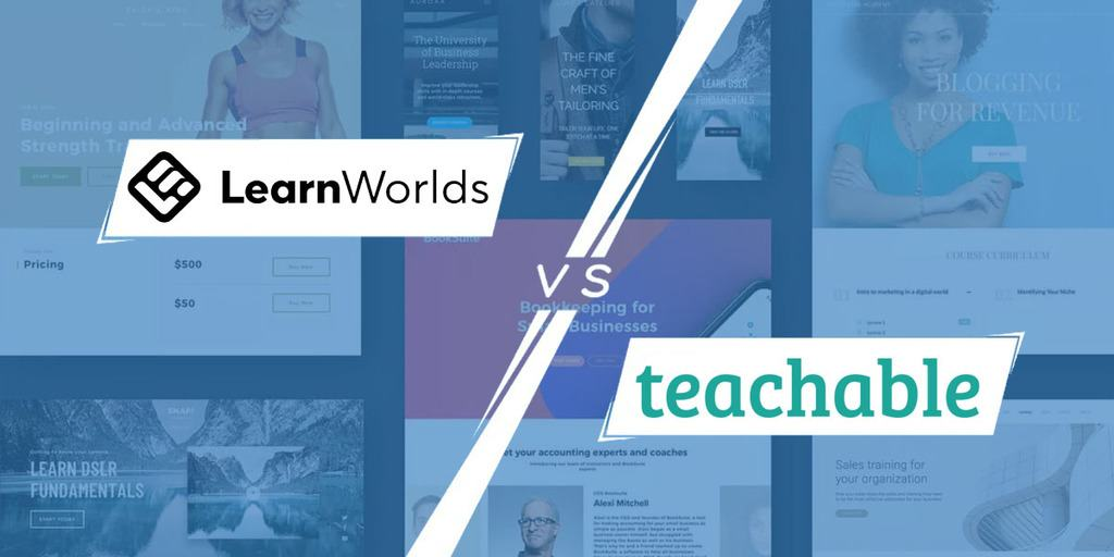 Learnworlds vs Teachable