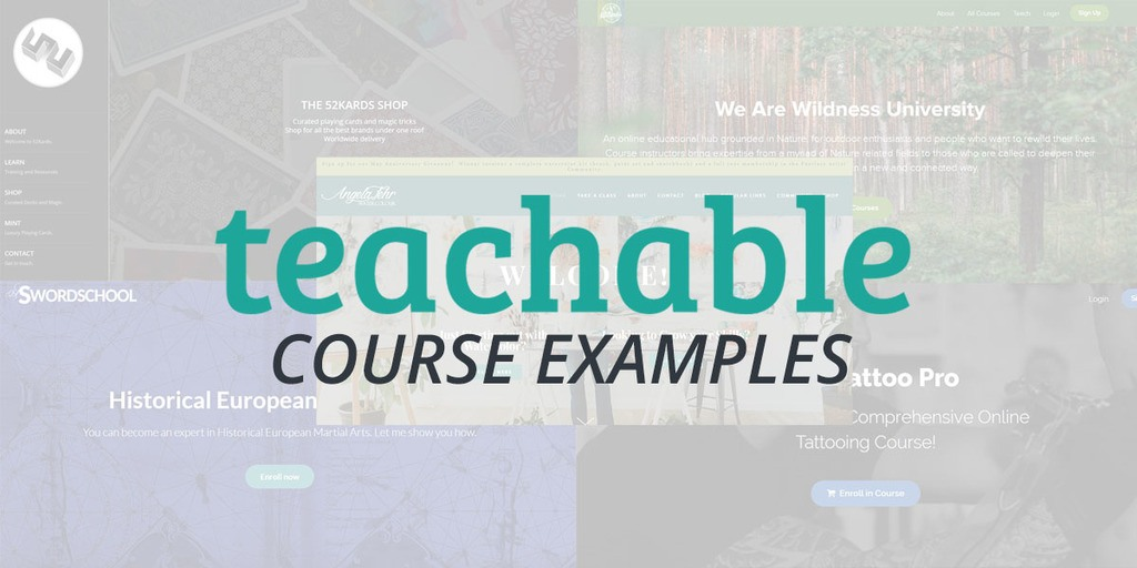 Teachable Course Examples