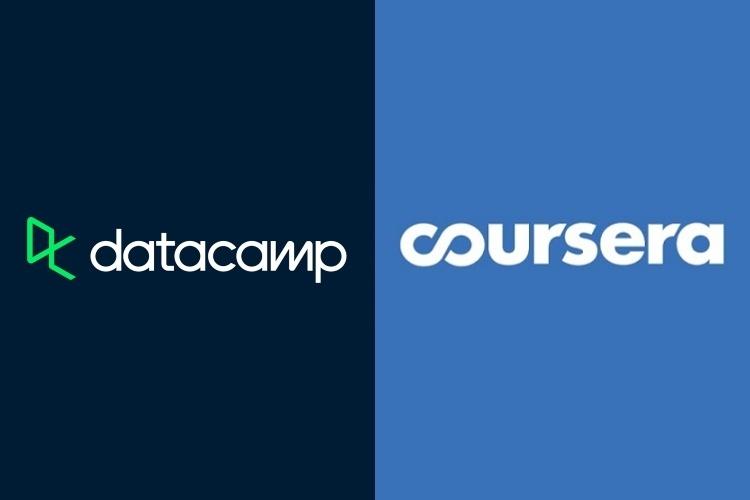 datacamp and coursera compare