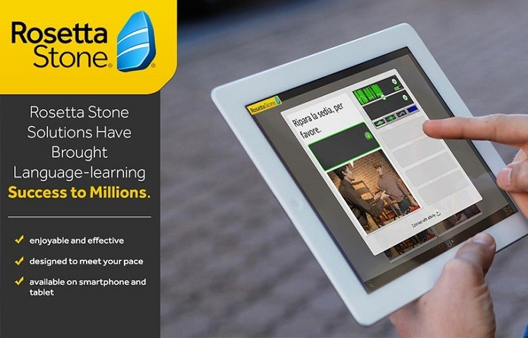 rosetta stone website and app