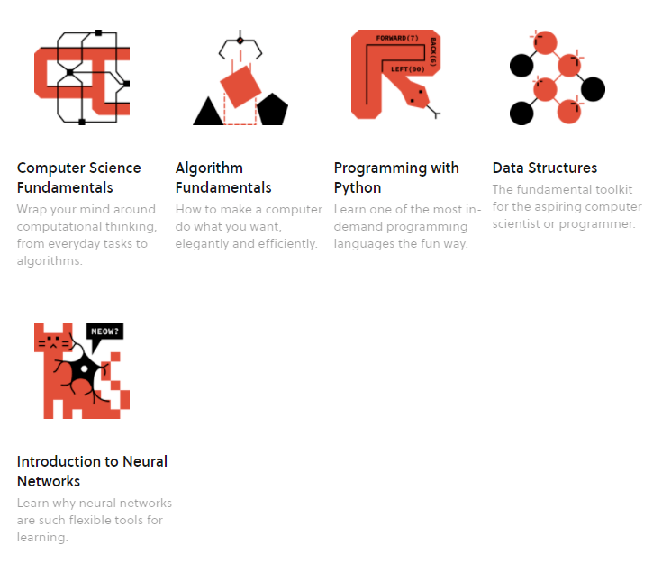 Computer science courses on Brilliant.org
