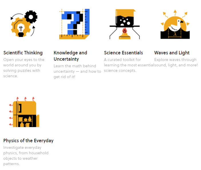 Science courses on Brilliant.org