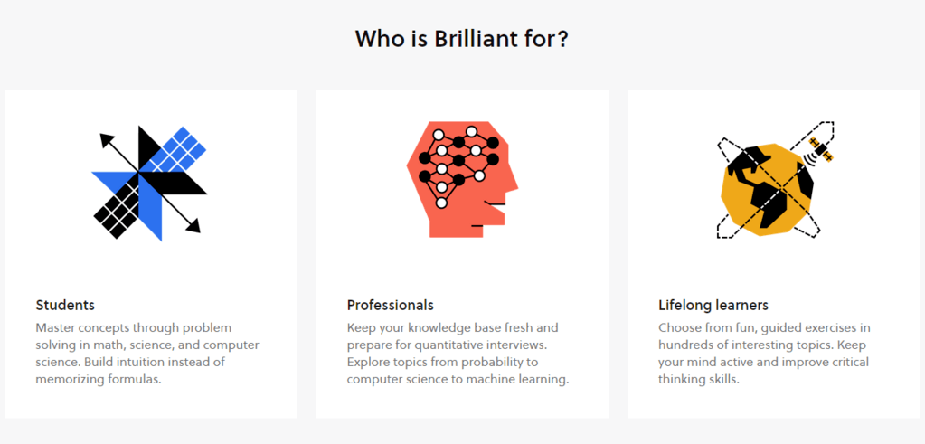 Who is Brilliant for?